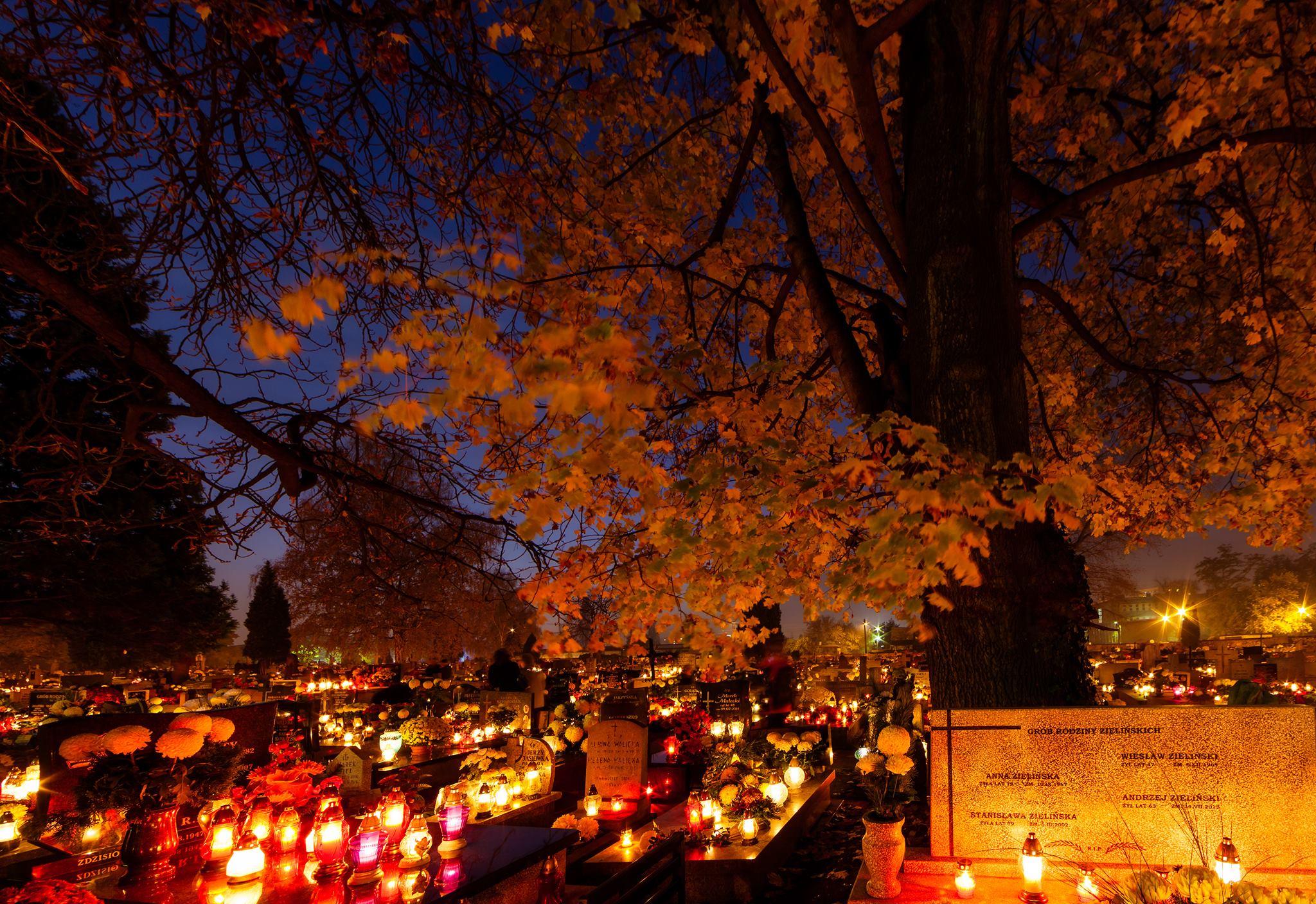 Kiermasz Świąteczny na Cmentarzu Junikowo.