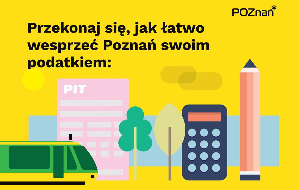 Wesprzyj Poznań swoim podatkiem!