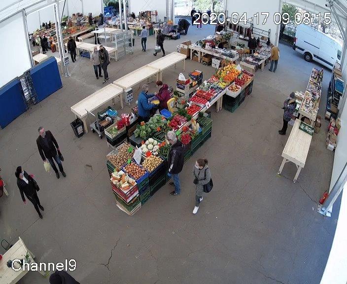 Tymczasowa lokalizacja Rynku Łazarskiego